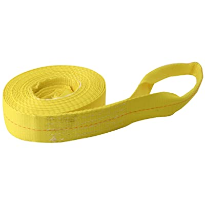 "Erickson 59702 3"" x 15' Tow Strap with Loops - 9000 lb. Breaking Strength: Automotive"