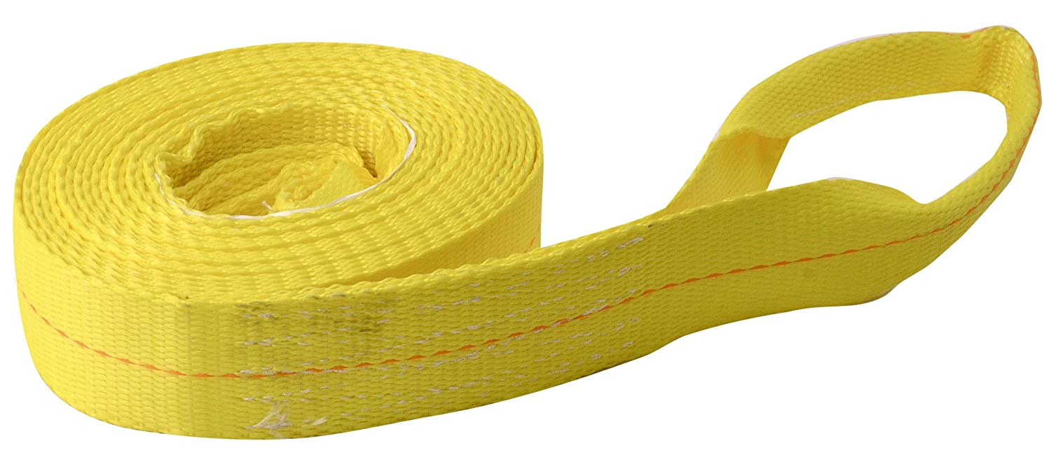 Breaking Strength Erickson 59702 3 x 15 Tow Strap with Loops 9000 lb