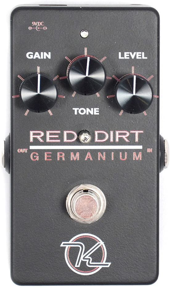 Keeley Red Dirt Germanium Overdrive Pedal B-Stock
