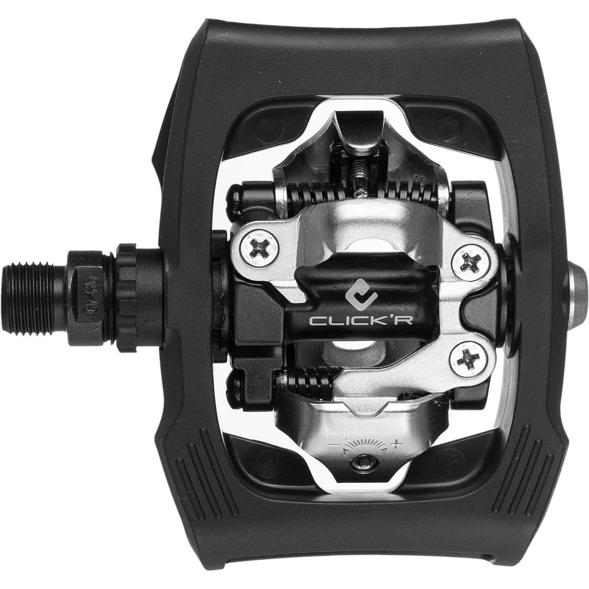 Reflectors Bicycle Bike Pedals Black With Cleats Shimano PD T400 Click/'R SPD