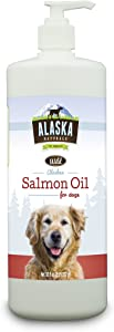 Alaskan Naturals ANSO32 Wild Salmon Oil Natural Supplement for Dogs, 32-Ounce