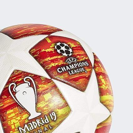 adidas Finale M Omb Ball, Balon de fútbol, White/Active Scarlet ...