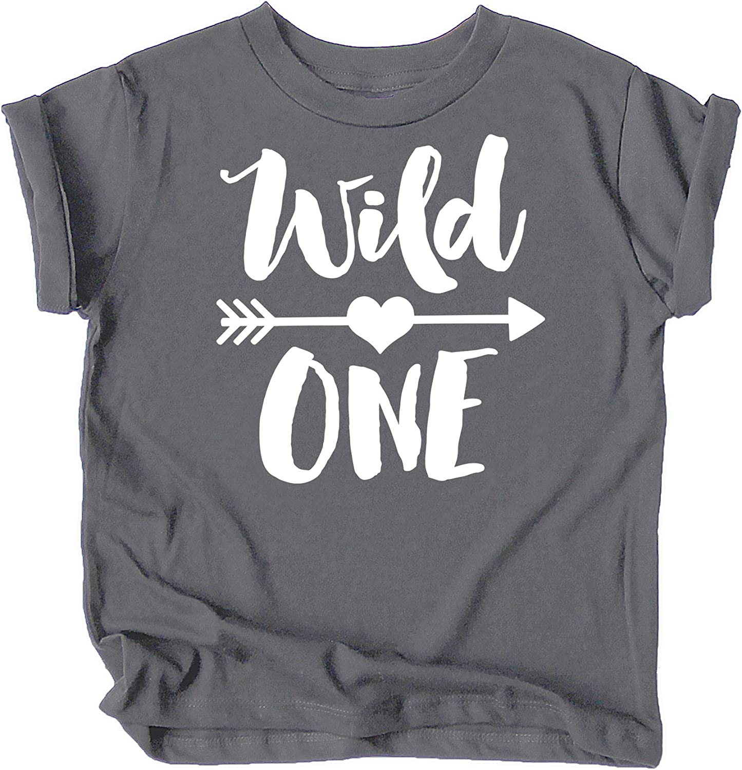 Wild One 1st Birthday Shirt for Baby Girls First Birthday Outfit