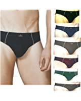Euro Men's Cotton Multi Coloured Underwear (Pack of 7)