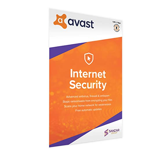 Avast Internet Security (1 User | 1 Year) (Activation Card)