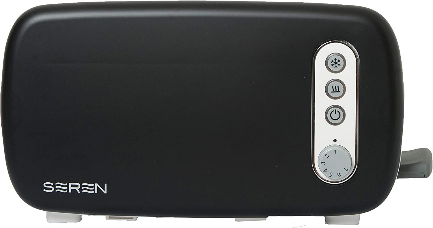 BergHOFF Seren 2 piece Side Loading Toaster with Black Panel