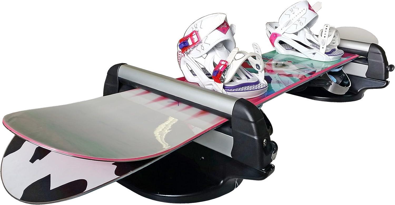 Fabbri Portasci e Portasnowboard Magnetico 6940004 HUSKI SKI /& BOARD