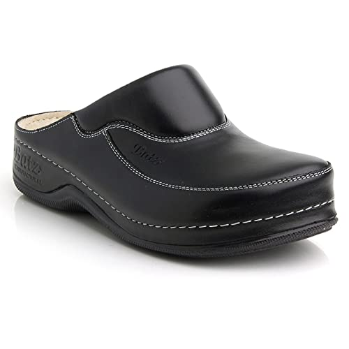 Batz FC04 Zuecos de Cuero para Mujer  Amazon.es  Zapatos y complementos 6d98f597fe6