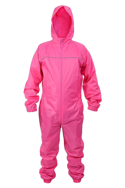 Adults Waterproof All in One Rainsuit Ideal Wet Weather Gear