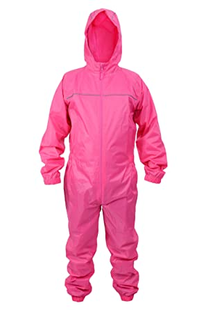 9870db2c64d Adults Waterproof All in One Rainsuit Ideal Wet Weather Gear  Amazon.co.uk   Clothing