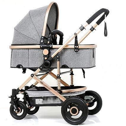 QQB &Carro Plegable Carro de bebé Carro de Mano Cochecito ...