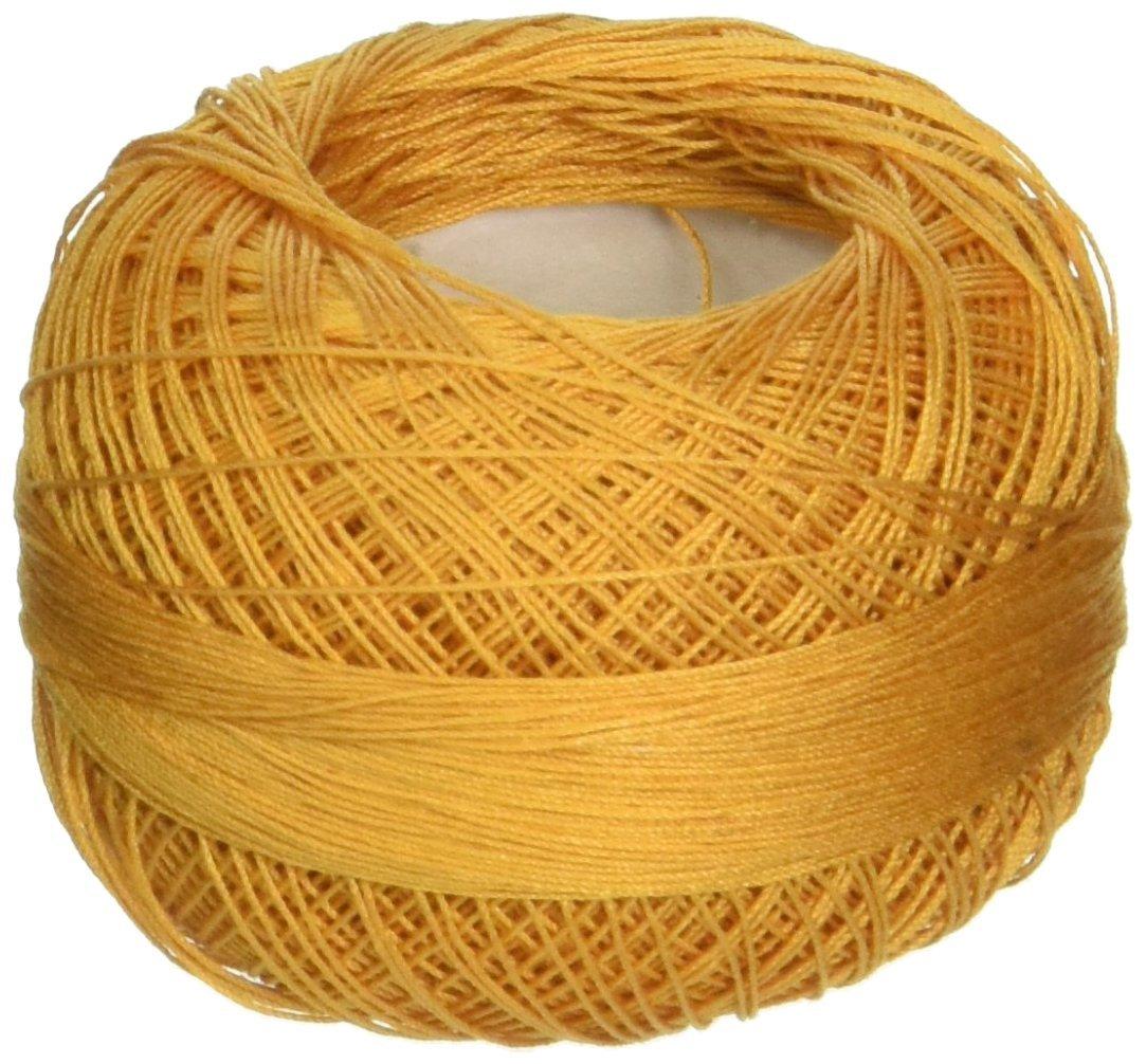 Handy Hands Lizbeth Size 80 HH80611 Cotton Thread, Gold
