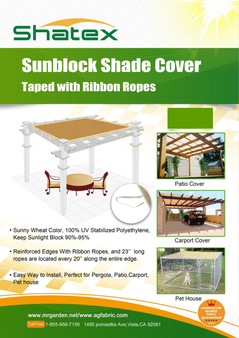 Pergola Roll Up Outdoor Porch Shades Patio Blinds Deck Sun ...