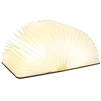 Sailnovo Livre Lumineux Lampe Livre Lampe D Ambiance Chevet