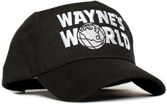 KIDS . Kids Wayne/'s World Embroidered Baseball Cap Hat