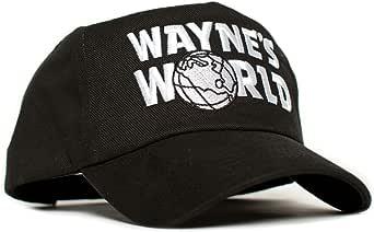 El Mundo de Wayne película Logotipo Bordado Disfraz Sombrero ...