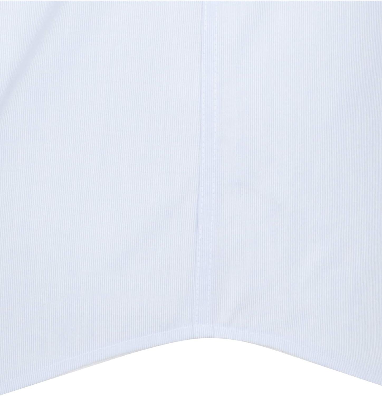 100/% Baumwolle B/ügelfreies Kurzarm Seidensticker Herren Business und Freizeit Hemd Modern Fit kurz/ärmliges Hemd mit Kent Kragen