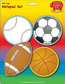 product image for Sports Large Notepad Set