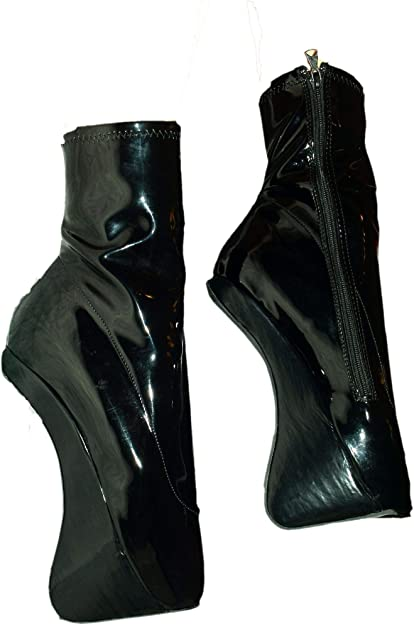 latex ballet stiefel