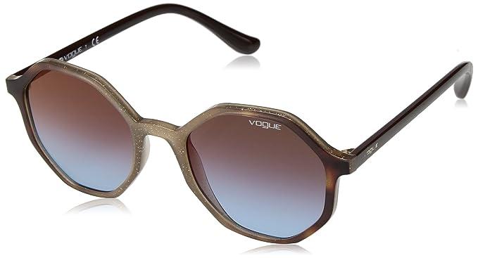 Vogue 0VO5222S Gafas de sol, Opal Beige Gliett Grad Havana ...