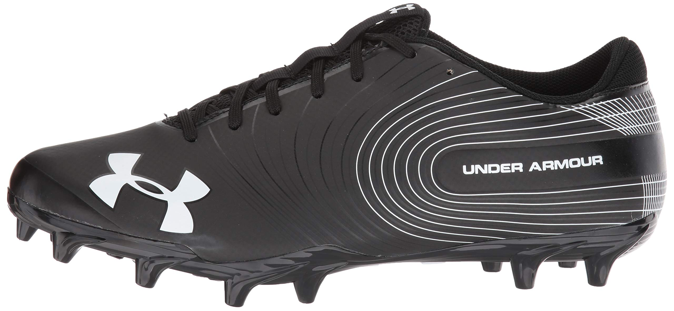 Under Armour Men's Speed Phantom MC Football Shoe Black (001)/White 6.5 by Under Armour (Image #5)