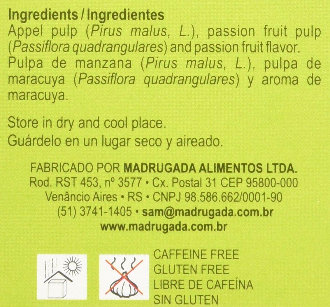 Passion Fruit Tea 10 tea bags - Chá de Maracujá 10 sachês - Madrugada - 0.5oz (15g) GLUTEN FREE - (PACK OF 04) by Madrugada (Image #4)