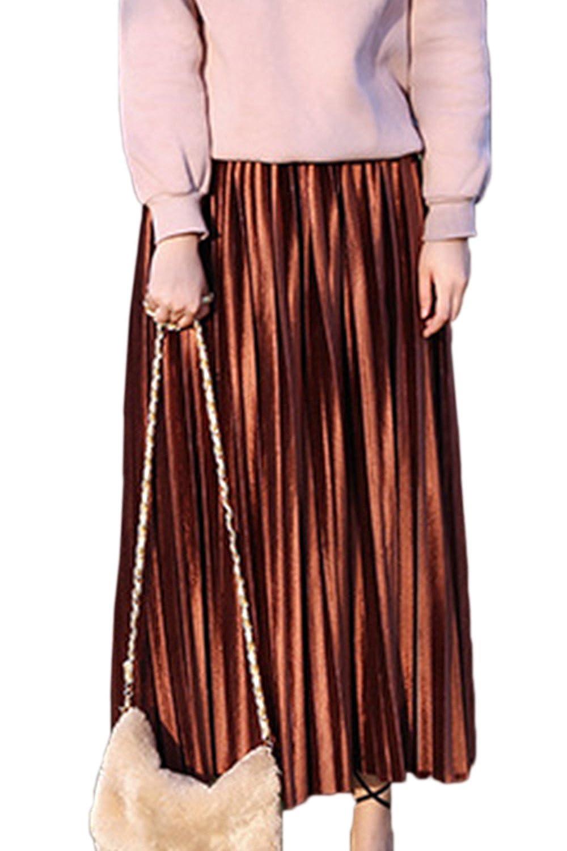 Vemubapis La Mujer Elegante Vintage Otoño - Invierno Falda De ...