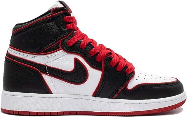Jordan Nike 1 Retro High OG GS Kids Red