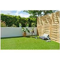 Cesped artificial terraza exterior California - rollo cesped artificial 1x4m 20mm de altura con alta densidad - calidad…