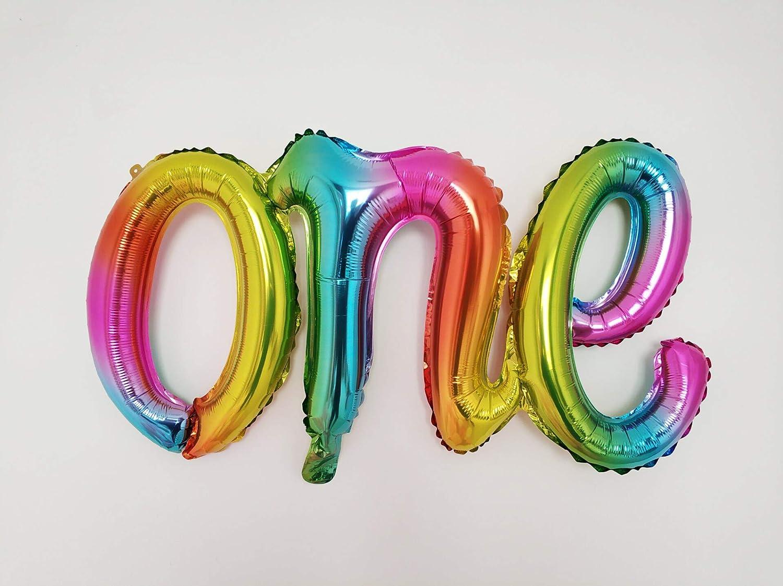 one Script Balloon for Party Supplies Balloons Gradient Balloon 1 Piece