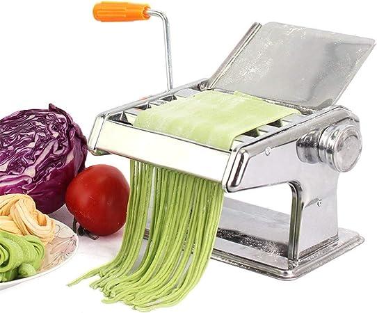 Machine à Pâtes Pasta Machine Pâtes Rouleau Pâtes presse lasagnes spaghetti en acier inoxydable