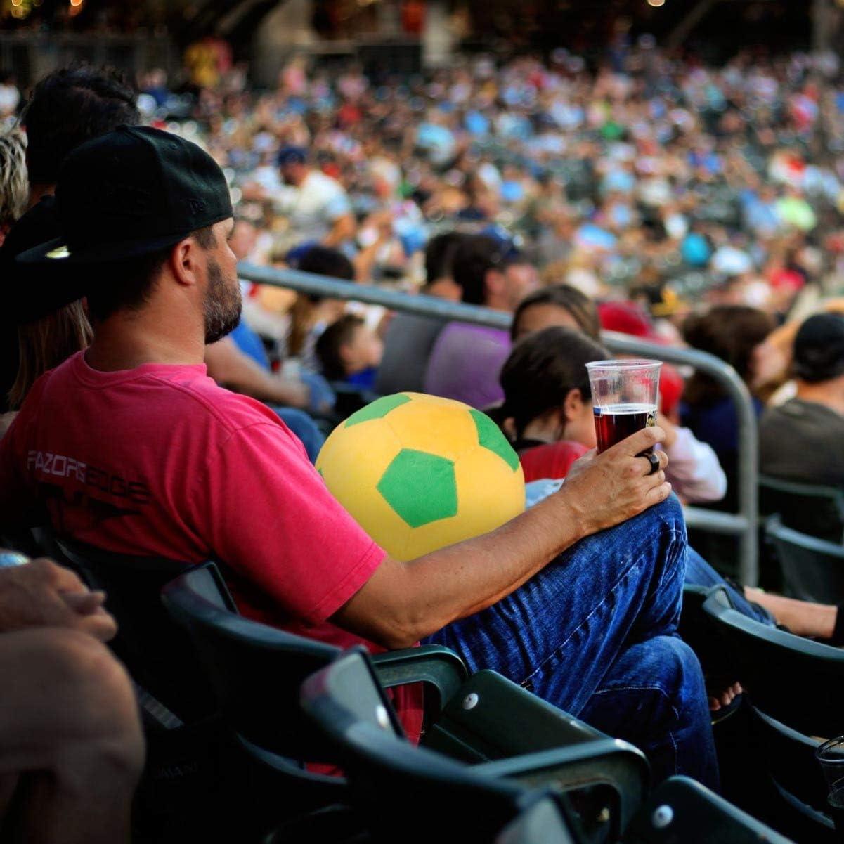 Toyvian Pelota de F/útbol de Felpa Juguetes de F/útbol Blandos Pelota de Deportes Divertida Regalo de Juguete de F/útbol para Fan/ático del F/útbol Ni/ños Ni/ño Ni/ño Copa Mundial Suministros para Fiestas