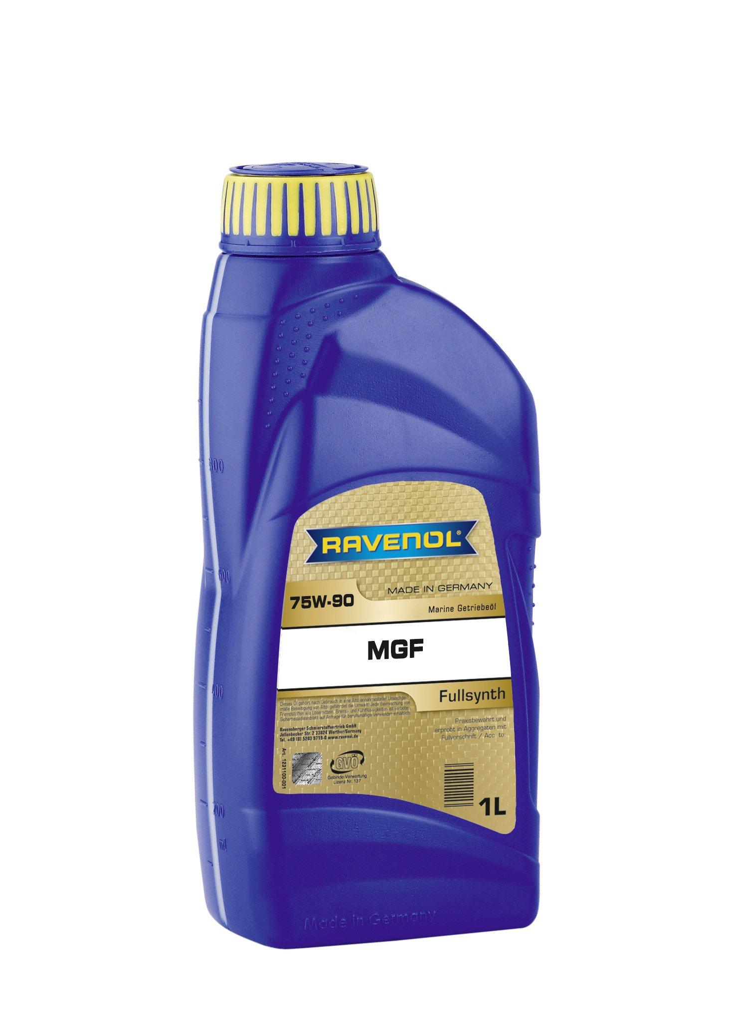 RAVENOL J1V2289-001 SAE 75W-90 Marine Gear Oil - GL-4/GL-5 Synthetic (1 Liter)