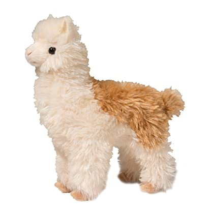 Amazon Com Douglas Alice Alpaca Plush 1745 Toys Games