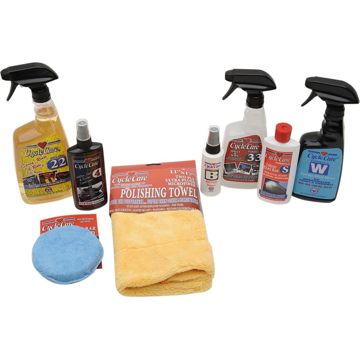Cycle Care Formulas 99008 Cleaning Package