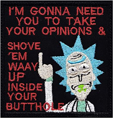 3 OF THESE. RICK AND MORTY  MR MEESEEKS IRON  ON FUN PATCH  buy 2  WE SEND