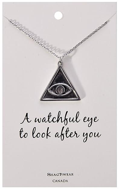 Amazon shagwear inspirational quote pendant necklace eye of shagwear inspirational quote pendant necklace eye of providence pendant aloadofball Choice Image