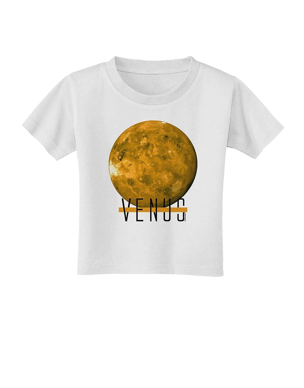 TOOLOUD Planet Venus Text Infant T-Shirt