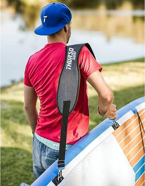THURSO SURF Sup Ajustable y Porta Tablas de Surf Easy Carry Correa ...