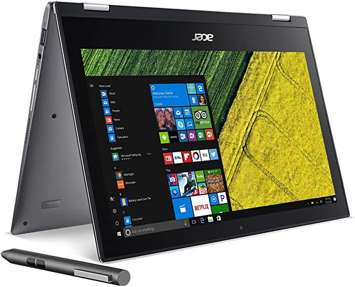 "Acer Spin 1, 11.6"" Full HD Touch, Celeron N3350, 4GB DDR3L, 32GB Storage, Windows 10, Convertible, Stylus, SP111-32N-C2X3"