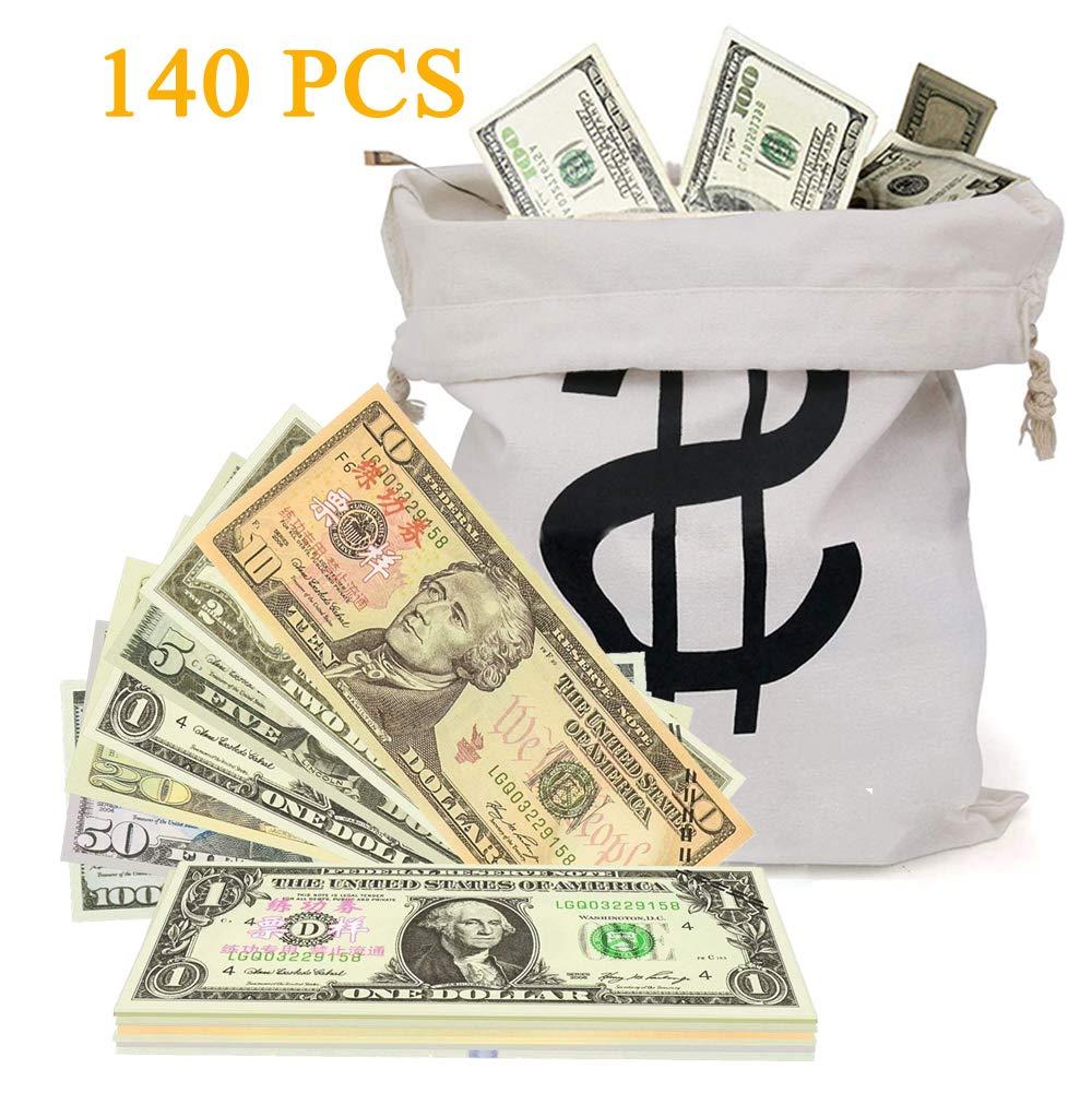 XDOWMO Prop Money-Copy Money Play Money Full Print Money Copy
