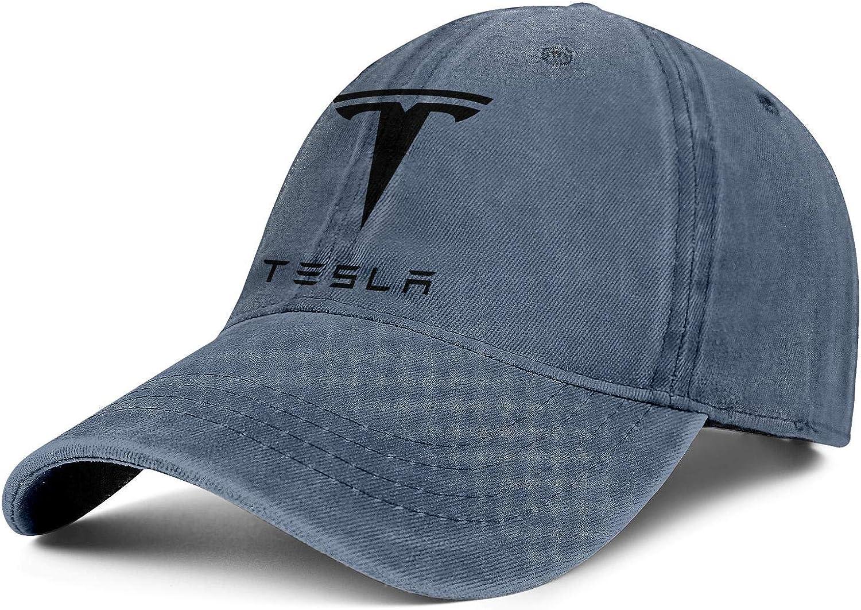 DRTGRHBFG Unisex Woman Men's Cute Denim Baseball Hats Adjustable Mesh Driving Flat Caps