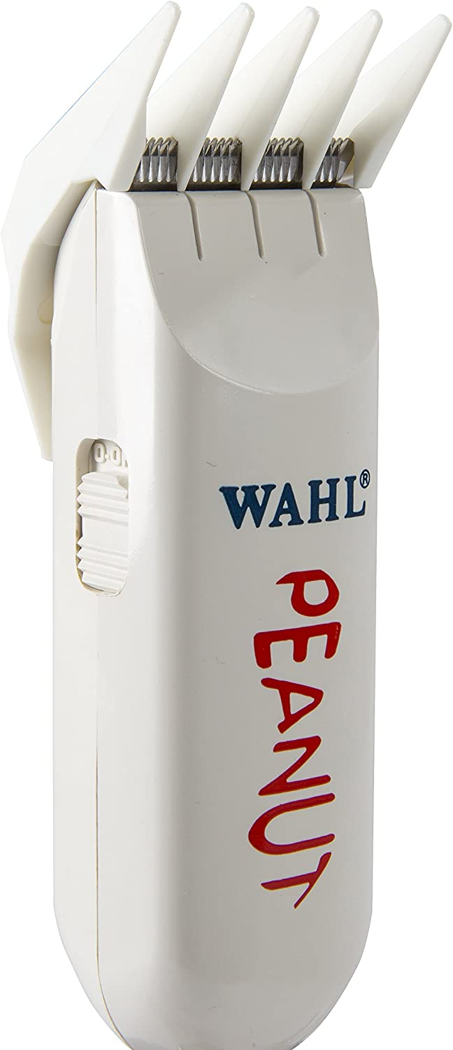 Wahl Professional Classic White Peanut Hair and Beard Clipper Trimmer