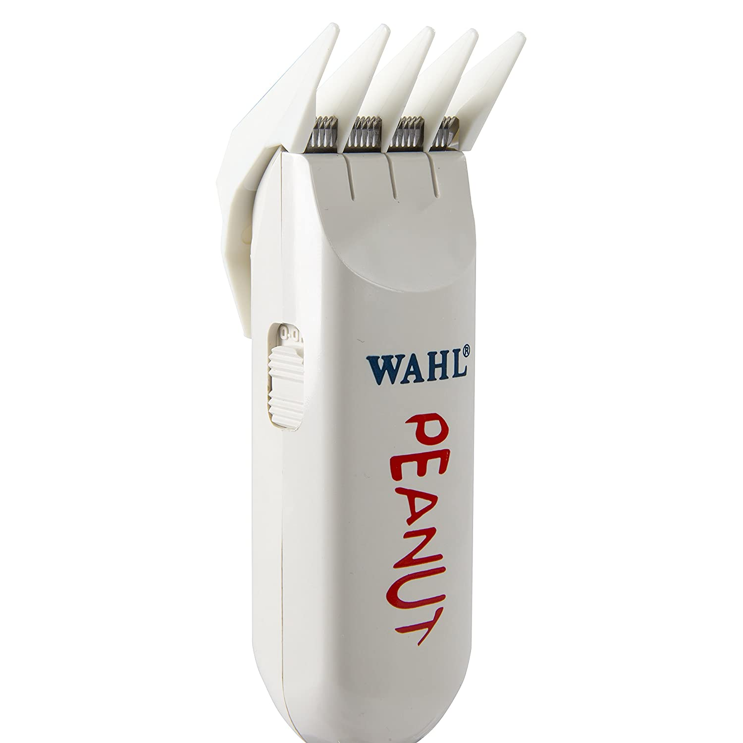 31932a41f Amazon.com: Wahl Professional Peanut Classic Clipper/Trimmer #8685, White –  Great for Barbers and Stylists – Powerful Rotary Motor: Health & Personal  Care