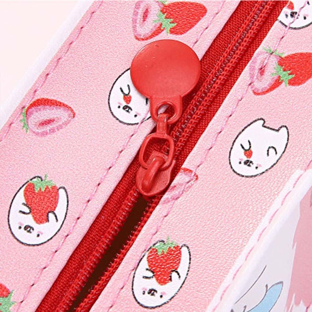 HUIHE Creative School Pencil Cases Cute Animals Milk Box Pen Bag Kawaii Stationery Office School Supplies Stationery 2PCS