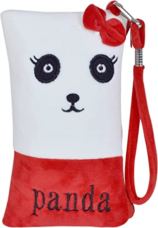 Chords Sweet Panda Mobile Pouch in Soft Toy Pencil Pouch
