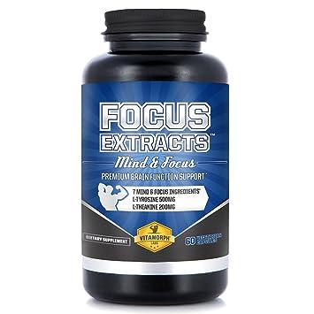 Amazon Com Focus Extracts 7 Premium Mind Alertness Nootropic