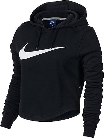 3da737dcb0b7da Nike W Nsw Hoodie Crop Swsh - Sweatshirt for Woman