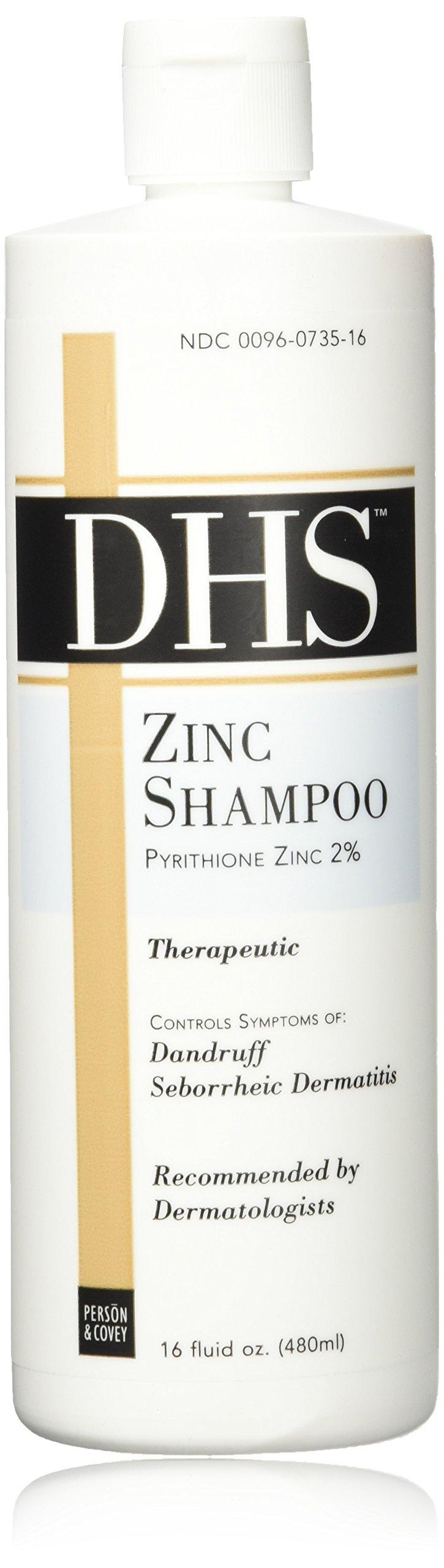 Zinc Shampoo, Dhs 16oz