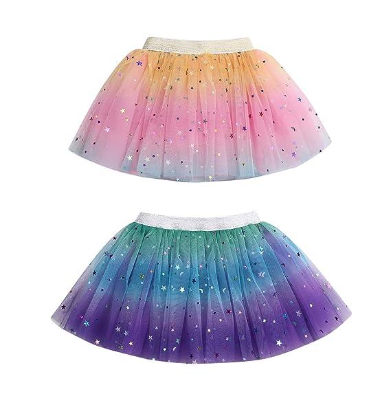 Amazon.com: Falda de tutú para bebé o niña, con lentejuelas ...